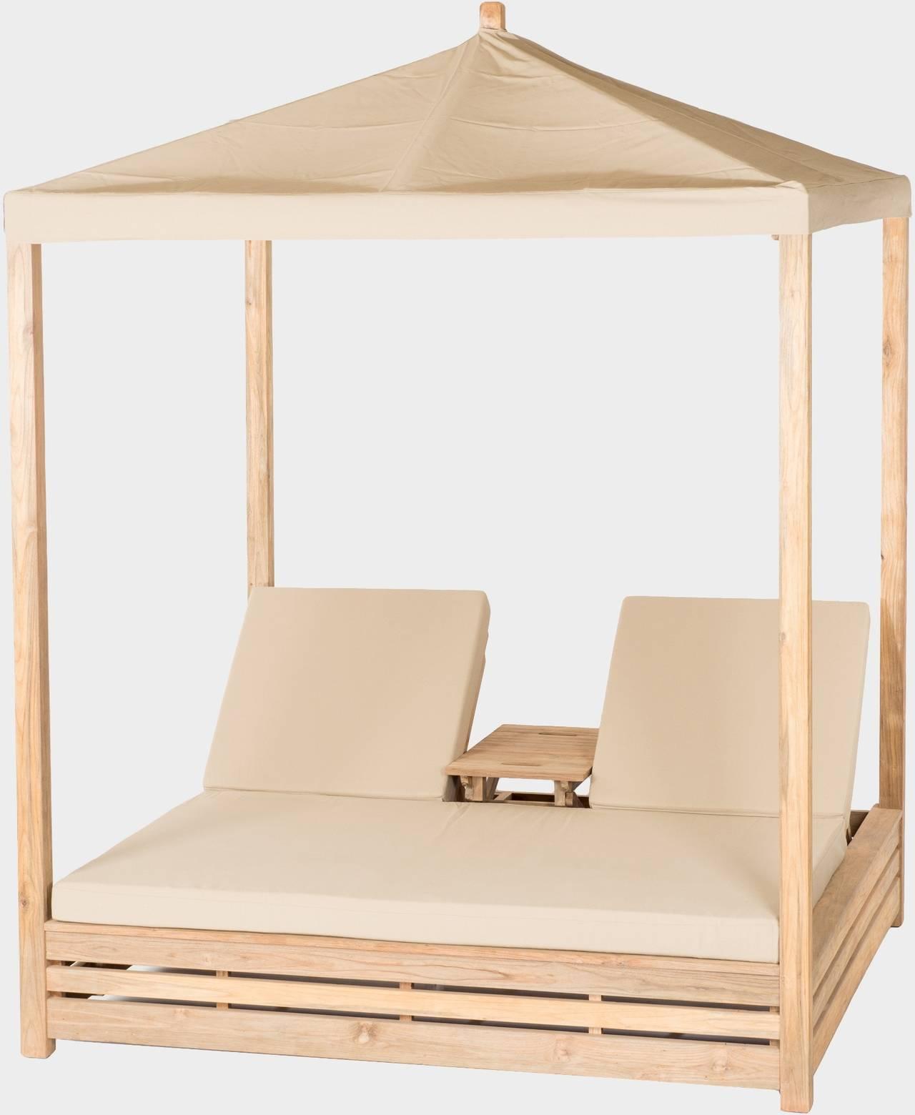 Zahradní teaková postel DAYBED