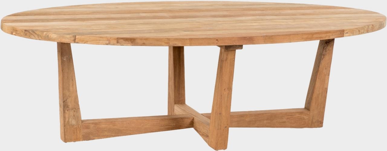 Zahradní teakový stůl FLORES RECYCLE