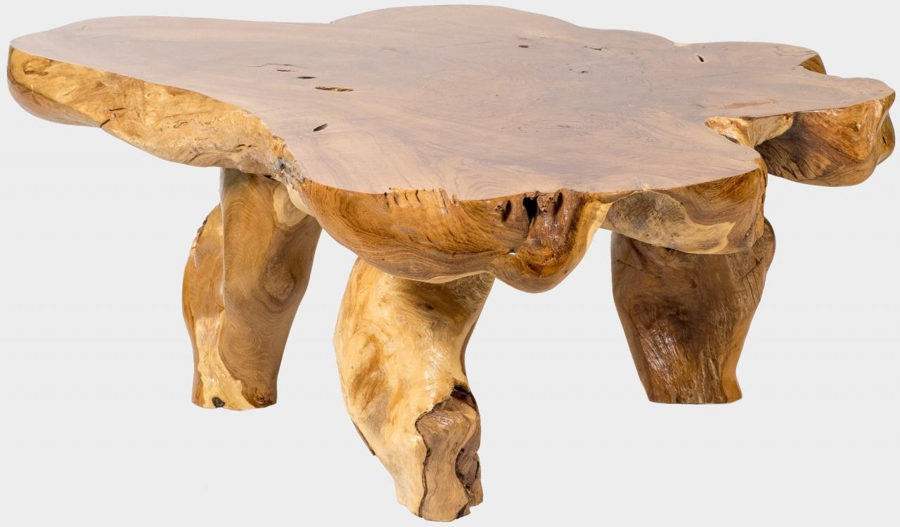 Teakový konferenční stolek BRANCH