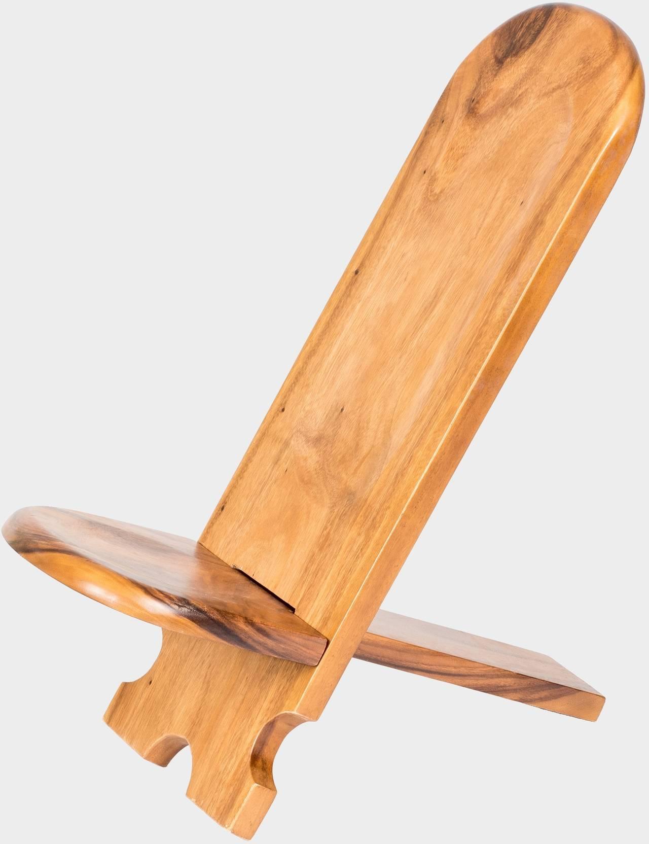 Zahradní teaková židle LÍZÁTKO