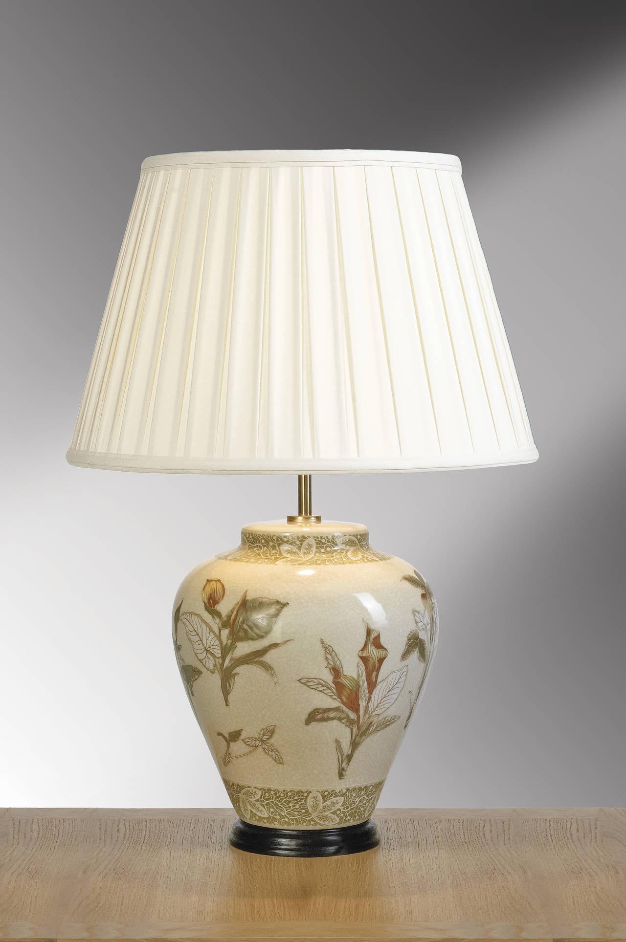Stolní lampa arum cream