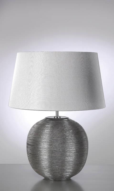 Stolní lampa caesar silver