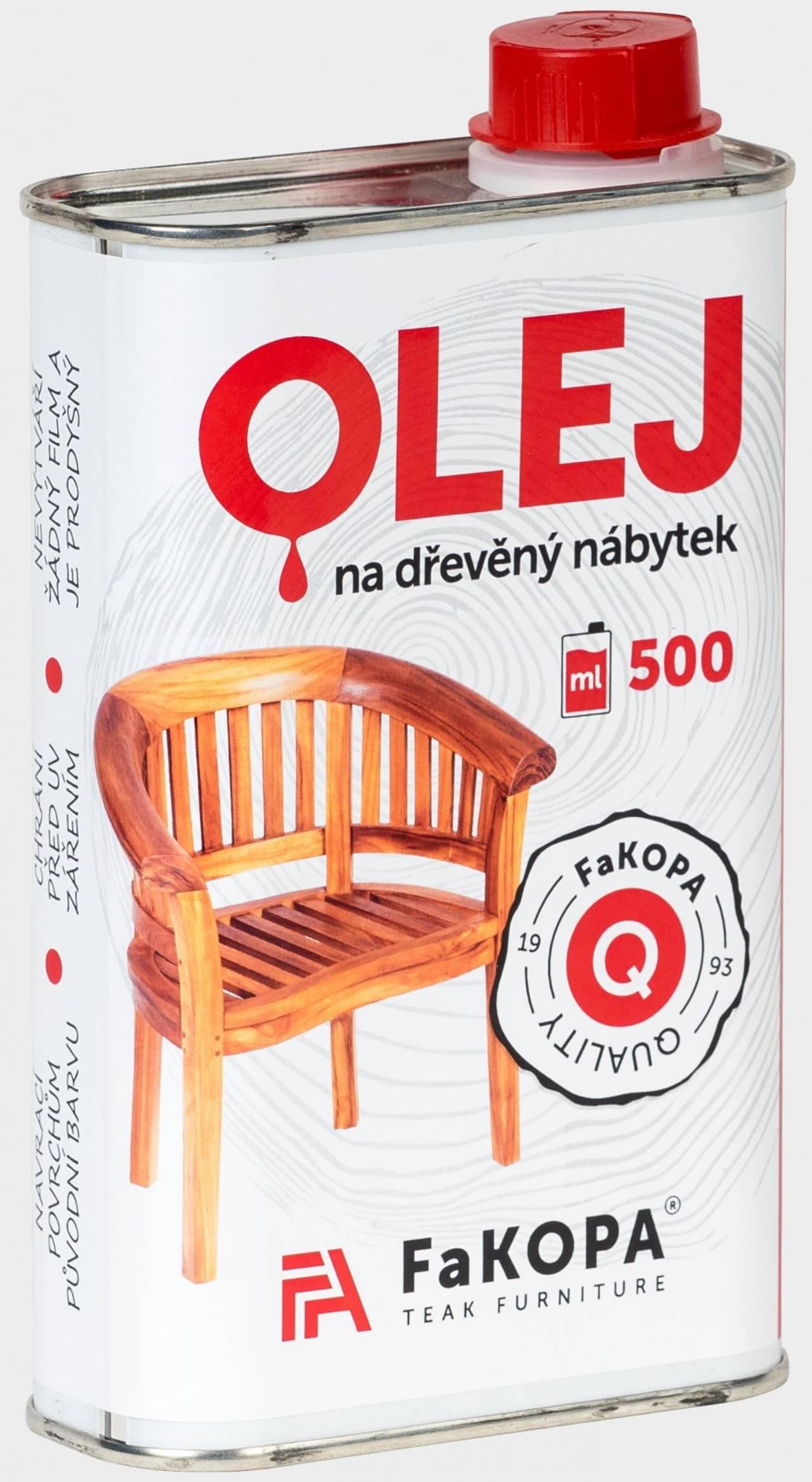 CLASSIC - teakový olej 1l