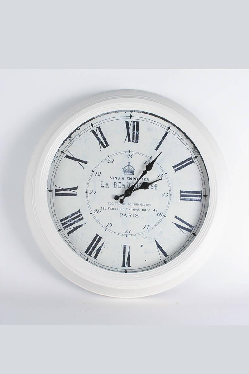 hodiny-biele-kovove