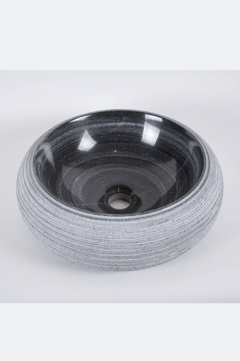 kamenné-umývadlo-okrouhlé-žulové-šedé