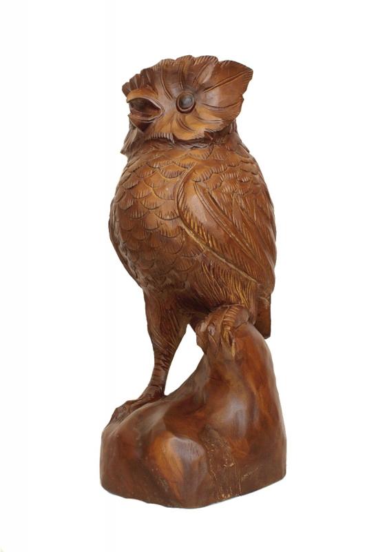 dřevěná-velká-sova