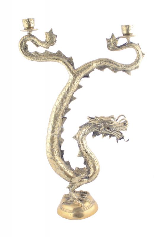 svícen-drak