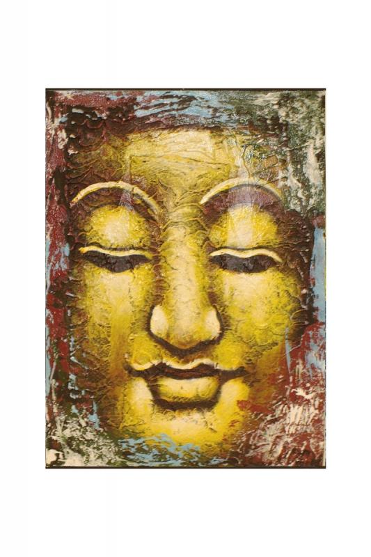 buddha-malý-barevný 30x40