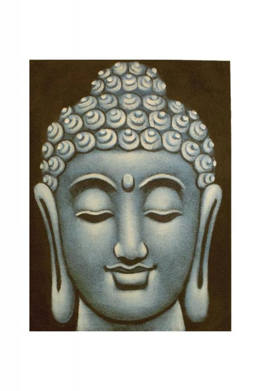 hlava-buddhy-modrá