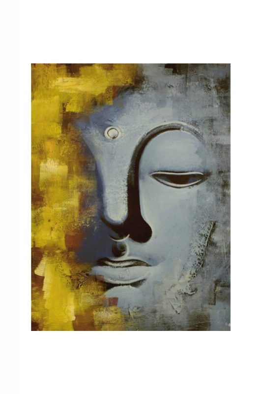 modrý-buddha-v-žluté-mlze