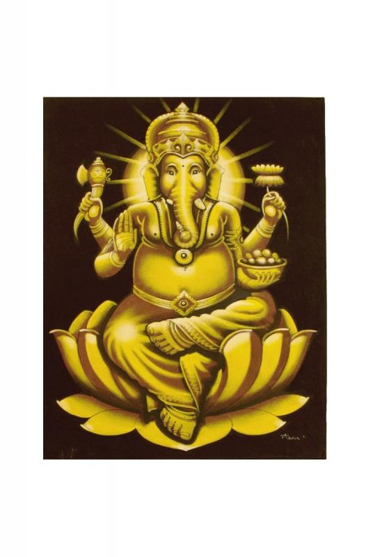 ganesha-zlatý-2