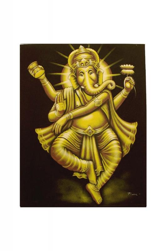ganesha-zlatý