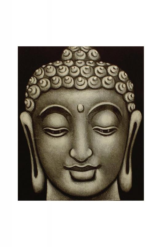 buddha-černo-šedý