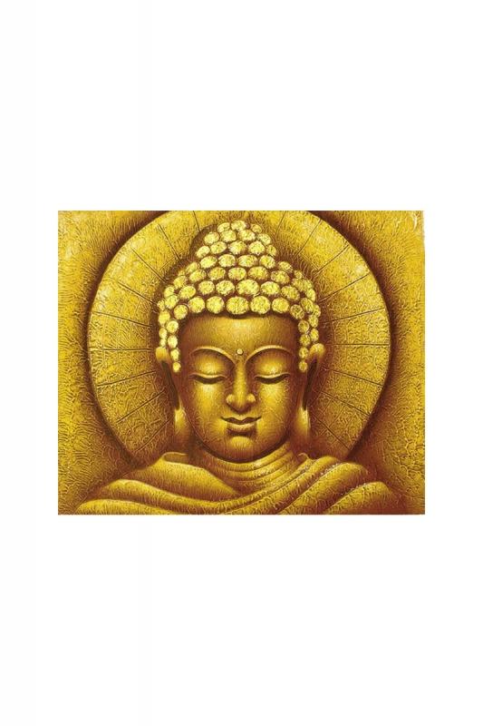 obraz-buddhy-v-záři-zlatý