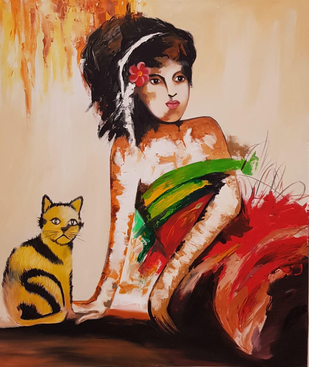 Žena s kočkou 2P10.jpg