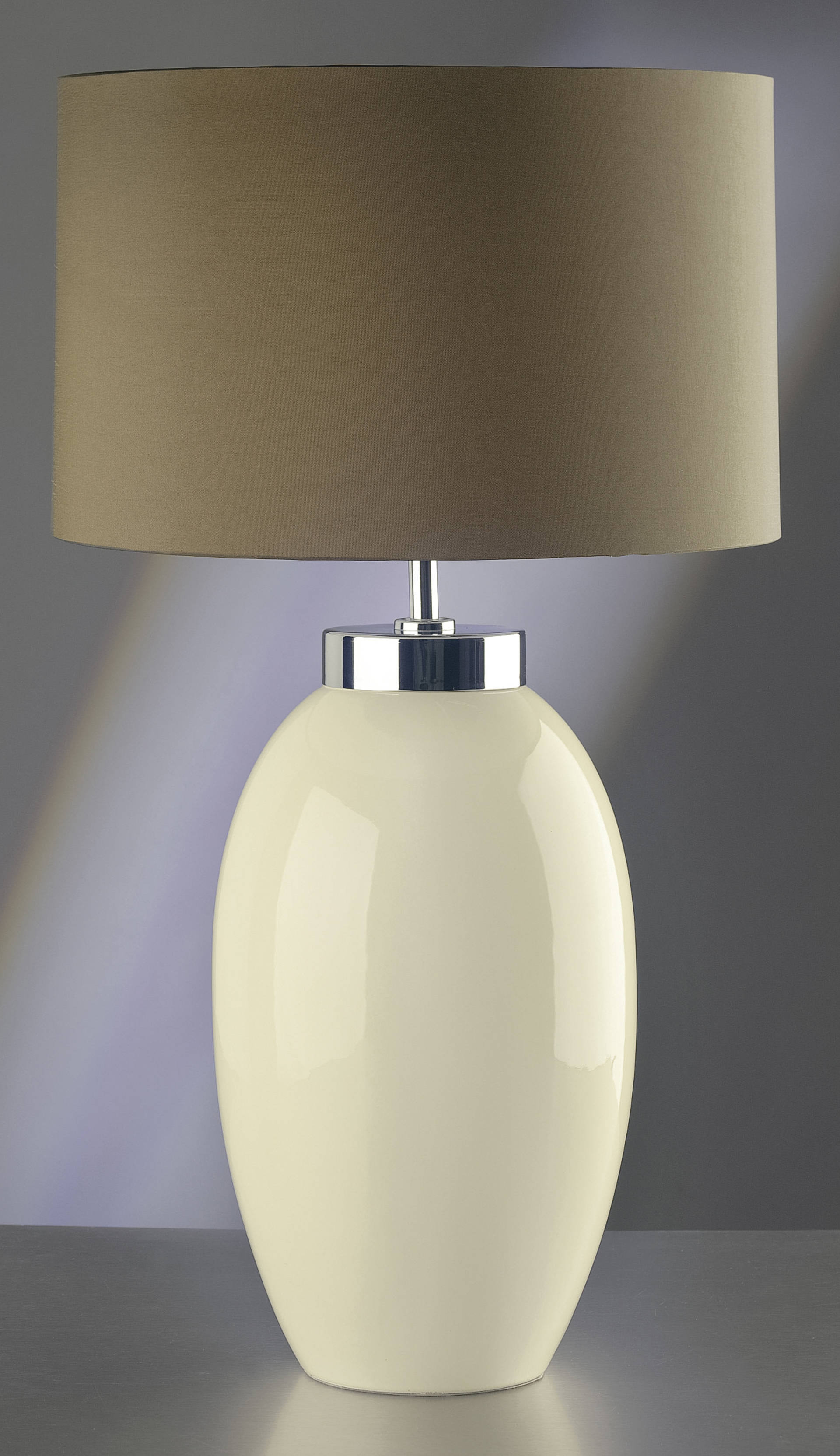 Stolní lampa victor crema lg