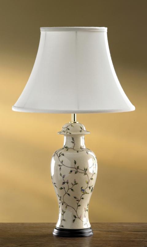 Stolní lampa bird crackle