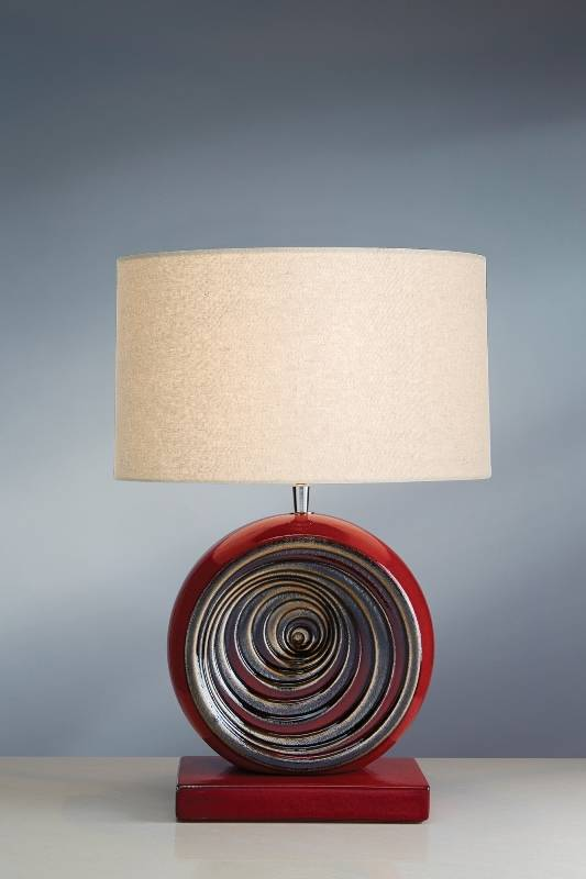 Stolní lampa swirl